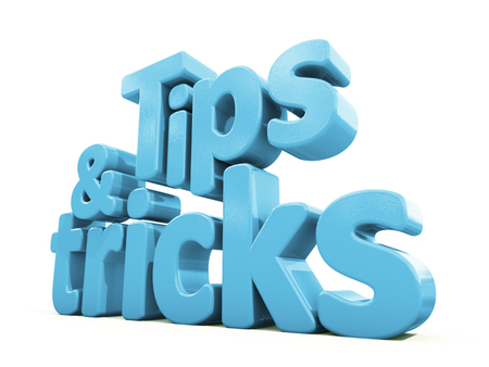 knack: Tips and tricks icon on a white background. 3D illustration.