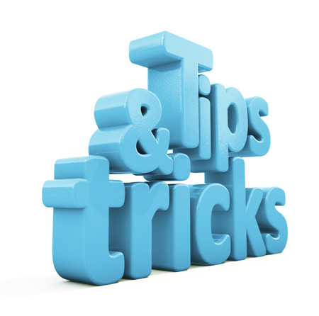 acquired: Tips and tricks icon on a white background. 3D illustration.