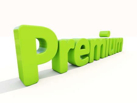 Word premium icon on a white background. 3D illustration. Stock Illustration - 27177039