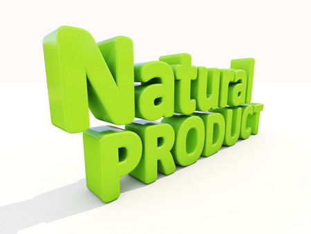 outgrowth: Natural Product icon on a white background. 3D illustration