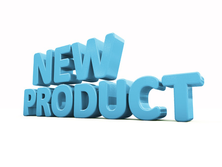 product icon: Fresh Product icon on a white background. 3D illustration Stock Photo