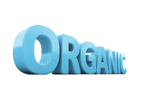 mundane: Organic icon on a white background. 3D illustration