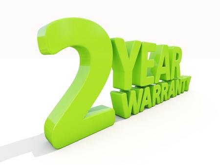 regenerated: The phrase Warranty on а white background Stock Photo
