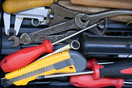 reconsideration: Different tools in the tool box. Repair and maintenance
