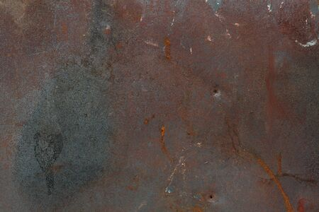 steely: Old metal, grunge texture with scratches and rust