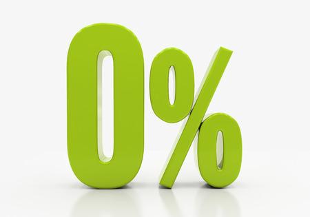 half cent: 0 Percent off Discount. 3D illustration