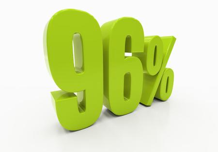 compounding: 96 Percent off Discount. 3D illustration