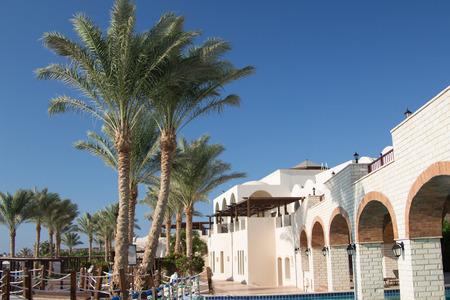sharm: Luxury hotel resort in Sharm el-Sheikh, Egypt Editorial