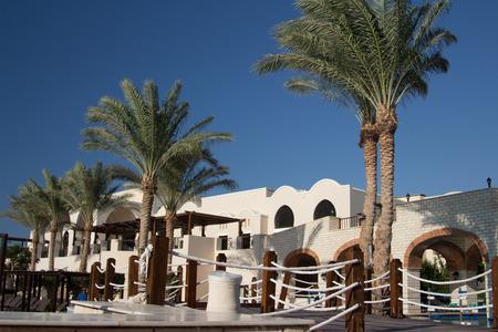 hotel resort: Luxury hotel resort in Sharm el-Sheikh, Egypt Editorial