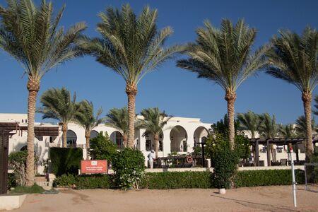 sinai peninsula: Luxury hotel resort in Sharm el-Sheikh, Egypt Editorial
