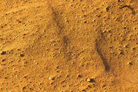 Desert Sand pattern texture de fond du sable à Charm el-Cheikh, en Egypte