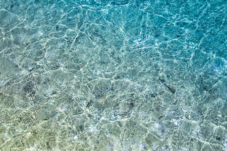 turqoise: Crystal clear turqoise water of the tropical sea