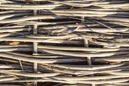 haulm: Natural textures. Weave, twisted twigs, dried stalks