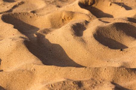 Desert Sand texture du sable en Egypte