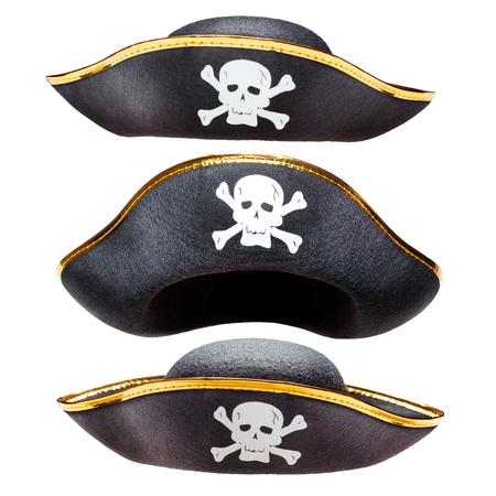 drapeau pirate: Pirate déguisements chapeau avec Jolly Roger