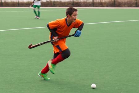 hockey cesped: Campeonato de la juventud rusa 2015 de hockey sobre c�sped. 5 de octubre de 2015. Equipo de Ekaterinburg contra las personas de la regi�n de Rostov