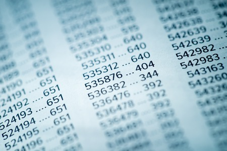 hoja de calculo: Financial Data Concept with Numbers, Spreadsheet Bank Accounts Accounting, Concept for Financial Fraud Investigation, Audit and Analysis, Balance Sheet, Numbers Background, Stock Market Quotes