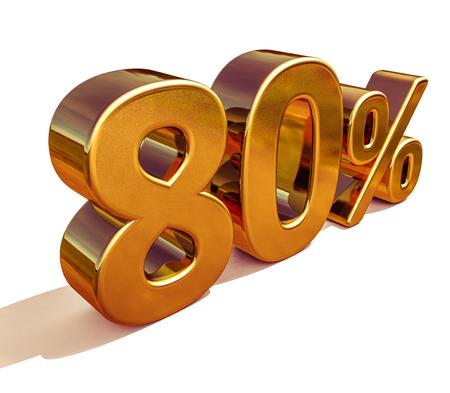 ゴールド販売 80 オフ割引販売バナー テンプレート記号特別金 を提供