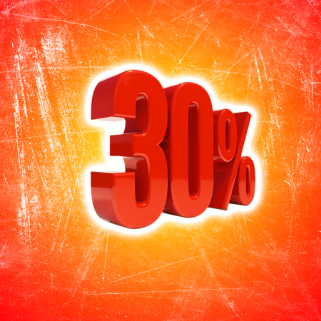 30 Percent Discount, Sale Up to 30%, Retail Image 30% Sale Sign,  Special Offer, Money Smarts Sticker, Save On 30%, 30% Off, Budget-Friendly, Cost-Cutting Tricks, Low-Cost, Low-Priced, Reduce Cost Stock Photo