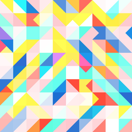 Abstract Memphis geometric pop art pattern. Illustration