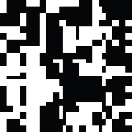 contrast resolution: Black and White Abstract Rectangles Graphic Art, Rectangles Art Background, Black and White Background, Pixel Art Design Element, Digital Camouflage Illustration