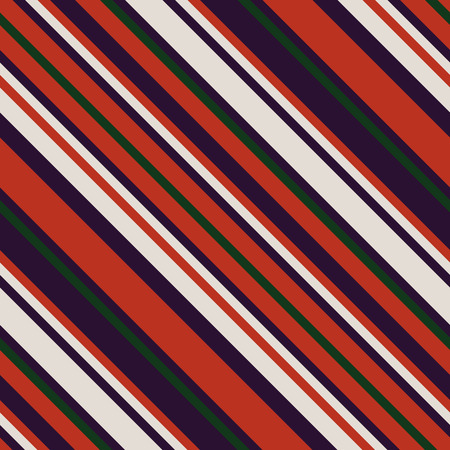 Seamless Pattern in Christmas Traditional Colors, Straight Diagonal Thin Line Abstract Background.