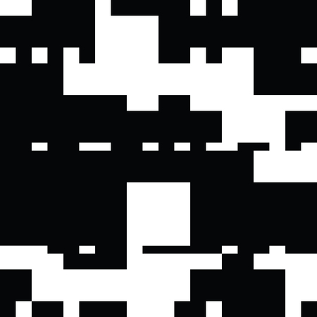 contrast resolution: Black and White Abstract Rectangles Graphic Art.