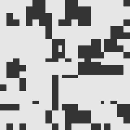 contrast resolution: Black and White Abstract Rectangles Graphic Art, Rounded Rectangles Art Background, Black and White Background, Pixel Art Design Element, Digital Camouflage.