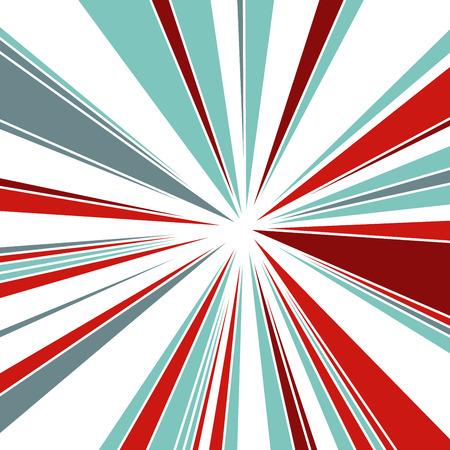 Abstract Dynamic Background, Fractal Explosion Star, Sunburst Background