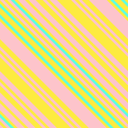 Seamless Pattern in Memphis Neon Colors, Straight Diagonal Thin Line Abstract Background, Striped Geometric Ornament, Vector Parallel Slanting, Oblique Lines Texture Ilustração