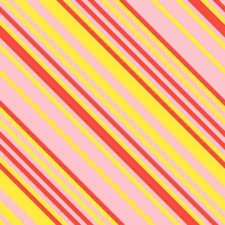 Nahtloses Muster in Memphis-Neonfarben, gerade diagonale dünne Linie abstrakter Hintergrund, gestreifte geometrische Verzierung, Vektor-paralleles Schrägstellen, schräge Linien Beschaffenheit Illustration