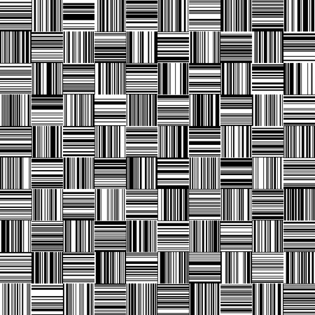 Seamless Black and White Straight Vertical and Horizontal Variable Width Stripes, Monochrome Lines Pattern, Vertically and Horizontal Lines Seamless, Straight Lines, Fashion Geometric Pattern