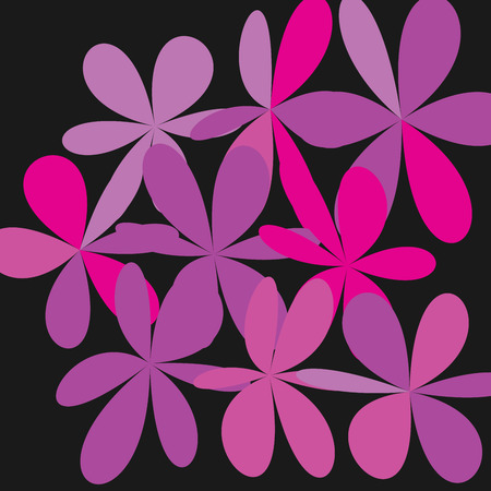 Colorful flowers pattern.
