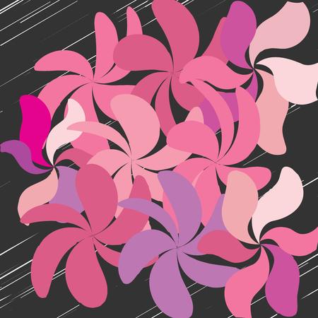 Floral pattern design.
