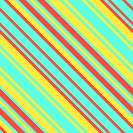 Seamless Pattern in Memphis Neon Colors