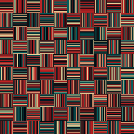 Christmas Color Lines Pattern, Vertically and Horizontal Lines, Seamless, Straight Lines, Fashion Geometric Pattern Фото со стока - 92254306