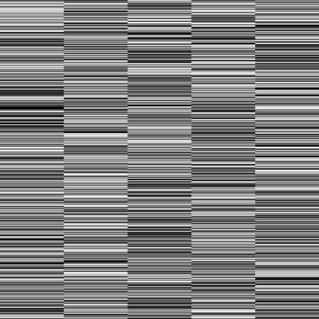 Monochrome straight horizontal variable width stripes. Иллюстрация