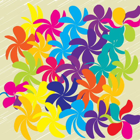 Vector Flower Background Ornament, Minimalist Fashion Ornament, Pattern with Beautiful Flowers.