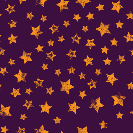 Star seamless pattern, chaotic elements. Abstract geometric shape texture, effect of sky. Design template for wallpaper, wrapping, textile, star sky seamless pattern.