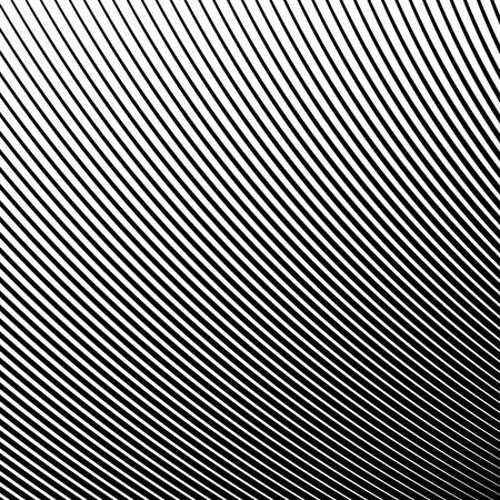 Abstract Wave Element for Design, Stylized Line Art Background,  Curved Wavy Line, Smooth Wave Stripe Background, Black and White Wave Stripe Optical Abstract Design, Vector Background, Curved Lines Ilustrace