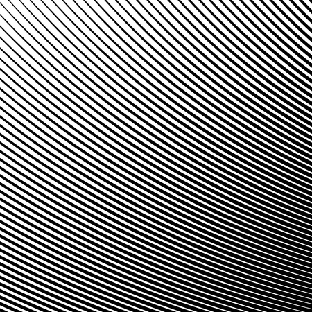 Abstract Wave Element for Design, Stylized Line Art Background.