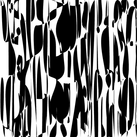 Random Chaotic Lines Abstract Geometric Pattern Texture