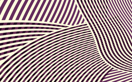 Stripes pattern, abstract curve stripes.