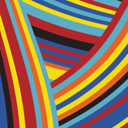 Zebra Pop  Abstract Color Stripe Fashion Pattern, Summer Optimistic Design, Art Animal Skin