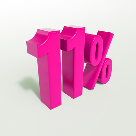 11 Percent Discount Sign, Sale Up to 11  , 11 Sale,  Special Offer, Money Smarts Sticker,  Save On 11 Icon, 11 Off Tag, Budget-Friendly, Cost-Cutting Tricks, Low-Cost, Low-Priced, Reduce Cost Concept Stock fotó