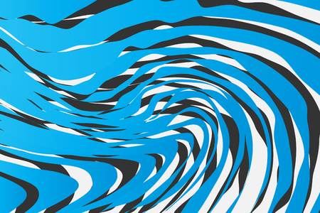 Color Trendy Twisted Lines Horizontal Background, Optical Illusion, Optical Art Abstract Background Wave Design  Ideal for Fabric, Wrapping Paper, Brochure, Leaflet, Flyer, Abstract Geometric Element