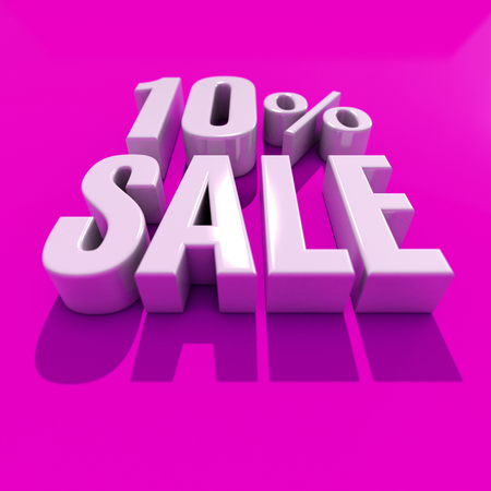 3d Illustration 10 Percent Discount Sign, Sale Up to 10, 10 Sale, Percentages Special Offer, Save On 10 Icon, 10 Off Tag, 10 Percentage Sign, Percentage 3d, Black Friday  Percentage