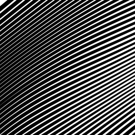 Abstract Vector Background of Waves, Line Stripes Irregular Wave Background