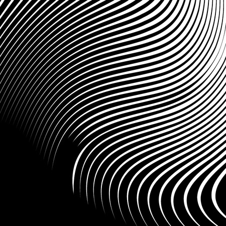 Abstract Vector Background of Waves