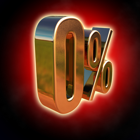Gold 0 Percent Discount Sign, Sale Up, Percentages Special Offer, Off Tag, Zero Percentage Sign, Black Friday  Percentage, Free, No charge